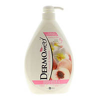 Крем-мыло жидкое Dermomed Жасмин и Персик, 1 л