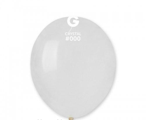 """Воздушные шарики пастель Прозрачный Gemar"""" (Италия)  (13 см) 10 шт"""