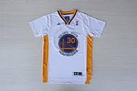 Мужская баскетбольная футболка Golden state Warriors (Stephen Curry) White