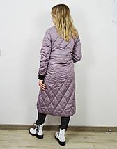 Пальто женское цвета лаванда CLASNA 707, фото 3