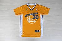 Мужская баскетбольная футболка Golden state Warriors (Stephen Curry) Yellow, фото 1