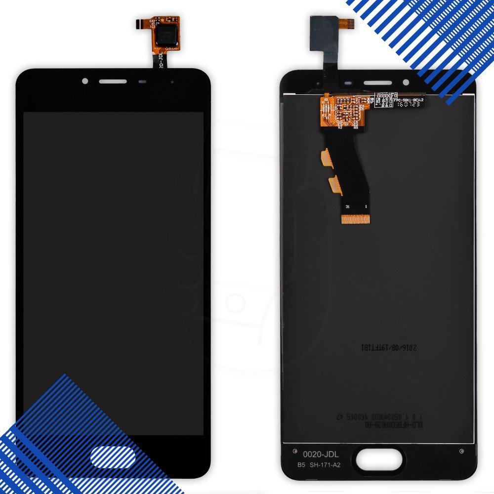 Дисплей Meizu M3s с тачскрином в сборе, цвет черный, уценка