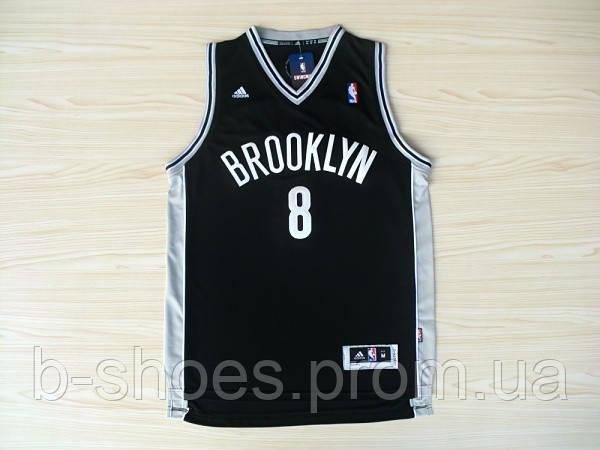 Мужская баскетбольная майка Brooklyn Nets (Deron Williams) Black