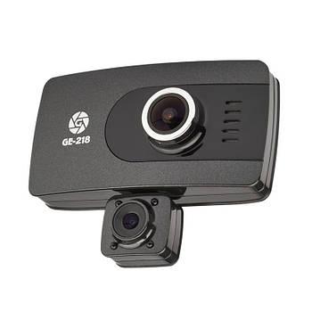 Видеорегистратор Globex GE-218 (2 камеры)