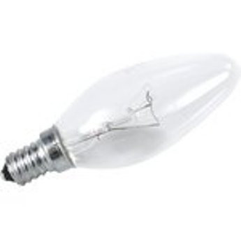 "Лампа накаливания Іскра E14 40Вт ""Свеча"""