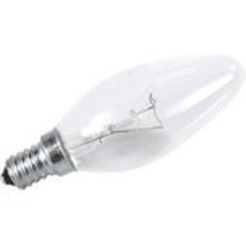 """Лампа накаливания Іскра Е14 60Вт """"Свеча"""""""