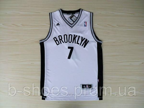 Мужская баскетбольная майка Brooklyn Nets (Joe Johnson) White