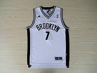 Мужская баскетбольная майка Brooklyn Nets (Joe Johnson) White, фото 1