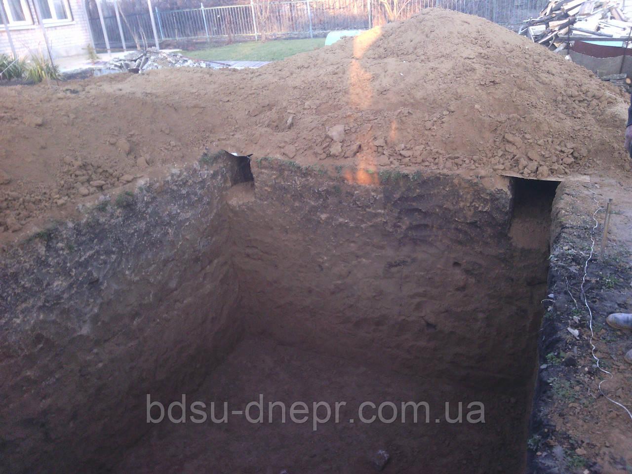 Земляные работы в Днепропетровске вручную