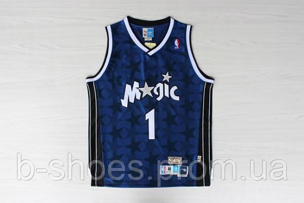Мужская баскетбольная майка Orlando Magic retro (Penny Hardaway) Dark Blue Star