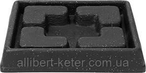 Піддон для квіткового горщика PIAZZA DECORATIVE SAUCER SQUARE 24CM (Keter)