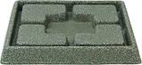 Піддон для квіткового горщика PIAZZA DECORATIVE SAUCER SQUARE 24CM (Keter), фото 2