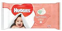 Huggies Soft Skin влажные салфетки, 56 шт.