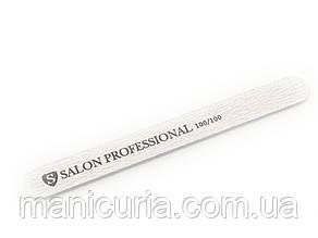 Пилка Salon Professional 100/100, серая, узкая