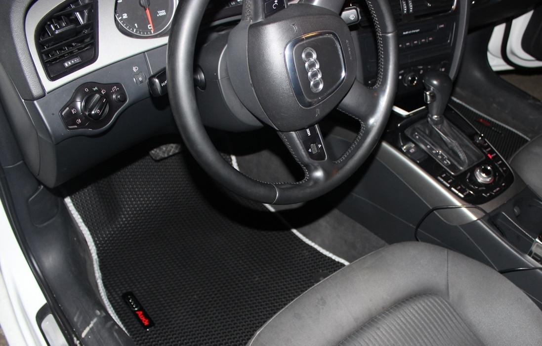 """Автоковрики ЭВА от ТМ """"EvaKovrik"""" для Audi A4 B8 (2007-2015) полный привод"""