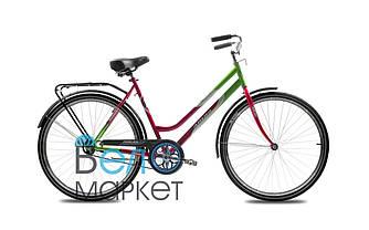 """Велосипед ARDIS Либідь 28"""" Дамський / Зелений/Червоний / Міський / Гібрид"""