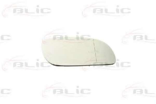 Вкладыш зеркала Volkswagen Touran 03-10 туран праве асферичне