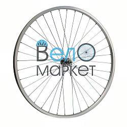 """Колесо переднє в зборі 28 """" / 36 спиць / сталевий обід / для дорожнього велосипеда"""