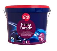 Viva Color Hansa Facade LС 9 л Матова фасадна фарба для мінеральних і обштукатурених фасадів