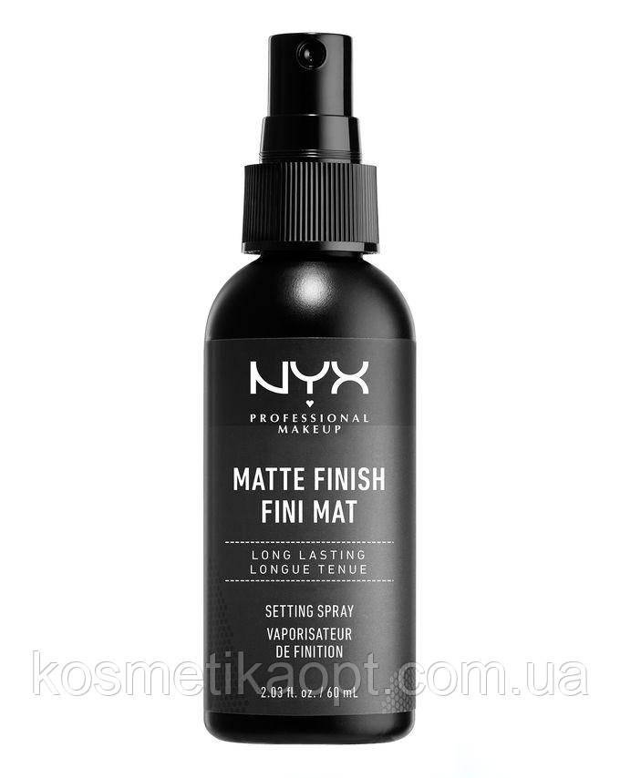 ОПТ 24 ШТ. Фиксирующий спрей для макияжа MAKE UP SETTING SPRAY NYX MATTE FINISH