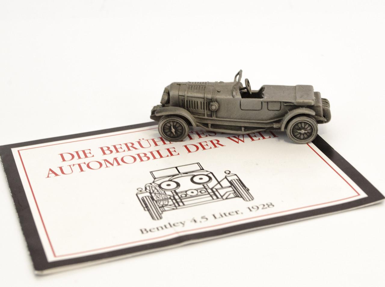 Модель автомобиля, Bentley, миниатюра, олово, Franklin Mint, Малайзия