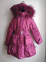 Распродажа  пальто-куртка для девочки 6-11 лет