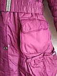 Пальто-куртка удлиненная для девочки 6-10 лет, фото 7