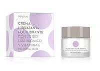Дневной и ночной крем для лица с гиалуроновой кислотой и витамином Е, deliplus, 50 мл (Испания)