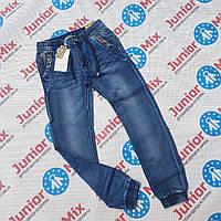Подростковые джинсовые брюки на манжете для мальчиков оптом  GRACE