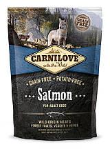 Carnilove Adult Salmon 1.5 kg корм лосось для взрослых собак