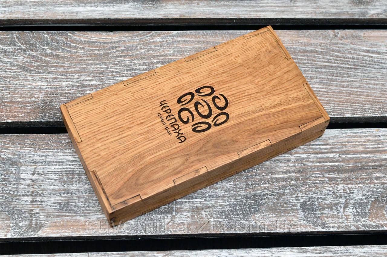 Счетницы из дерева. Расчетница, купюрница для кафе и ресторанов из дерева. (A00906)