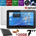 """Ainol NOVO Aurora II 7 """"емкостный сенсорный Android OS 4.0.3 двухъядерный планшет (CPU 1200.0MHZ / RAM 1Gb, фото 1"""