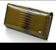 Женский кожаный кошелек ST New цвет Зеленый. красный, фото 1