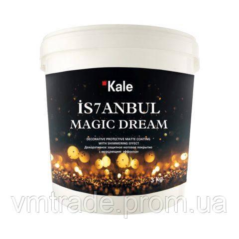 Воск декоративный прозрачный с переливом, Kale Magic Dream 3л