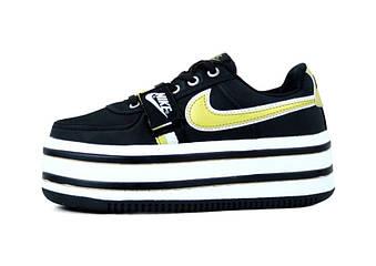 "Женские кроссовки Nike Vandal ""Black"" (люкс копия)"