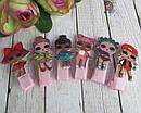 Детские заколочки для волос куклы LOL 5 см 10 шт/уп., фото 3