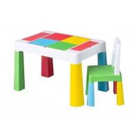 Набор детской мебели столик и стульчик Multifan Eco Tega Baby Multicolor
