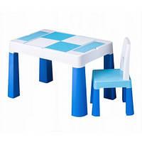 Набор детской мебели столик и стульчик Multifan Eco Tega Baby Blue