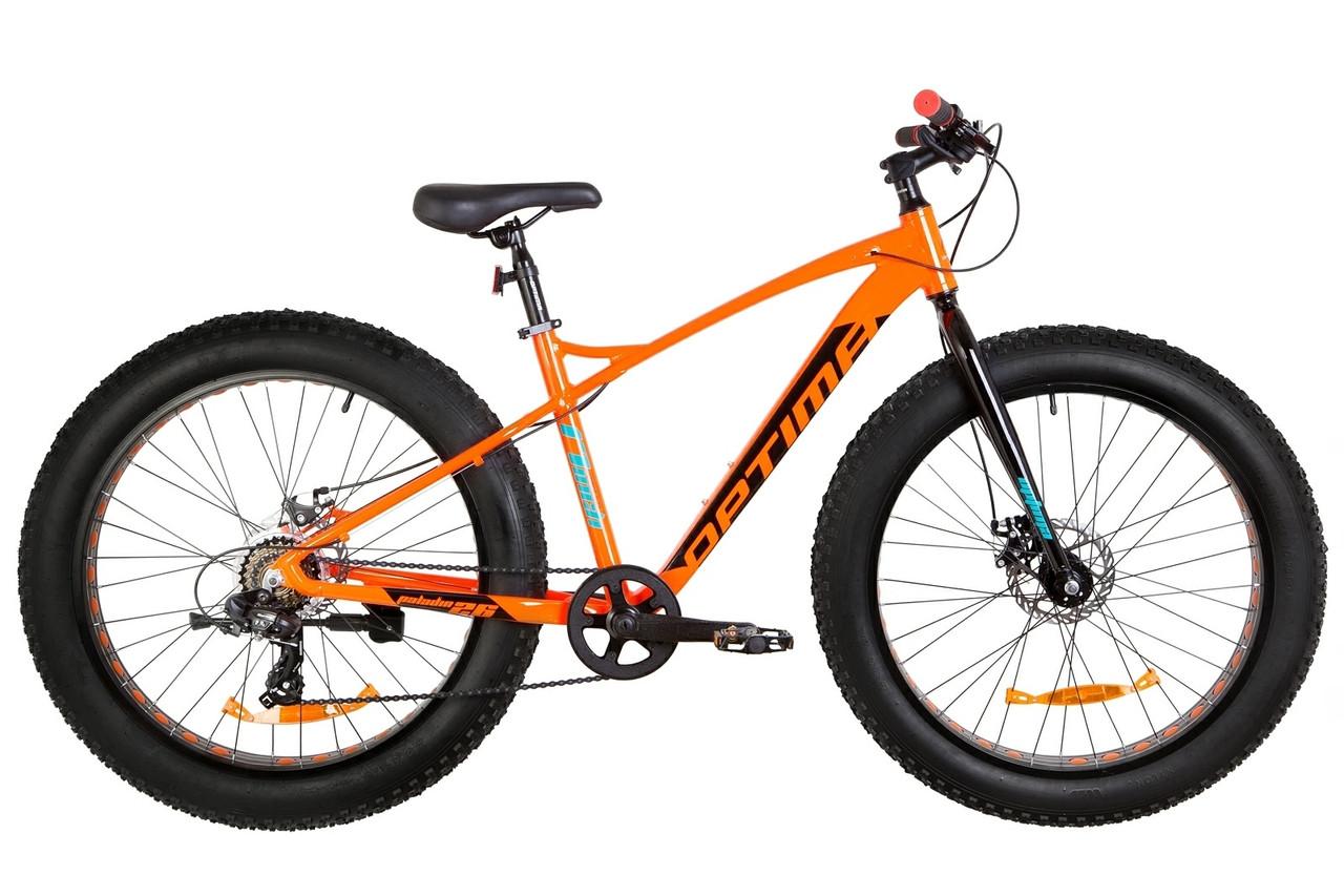 """Велосипед Optimabikes PALADIN DD 26"""" 2019 оранжево-черный"""