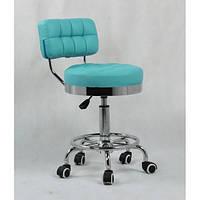 Кресло мастера со спинкой и подставкой для ног HC-636