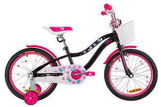 """Велосипед Formula ALICIA 18"""" 2019 черный с розовым"""
