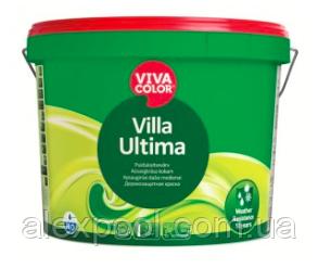 Viva Color Villa Ultima VVС 0,9 л Полуматовая акрилатная краска для наружных работ
