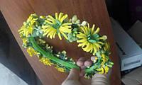 """Обруч-веночек для волос """"Полевые цветы"""", фото 1"""