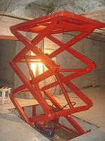Подъемник гидравлический Docker 2500х1500мм, ход 3,5м