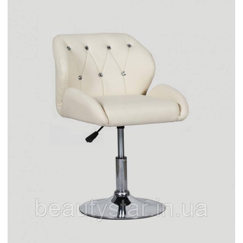 Парикмахерское кресло для детей и взрослых, кремовый  HC-949N