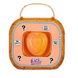 Игровой набор с куклами L.O.L. Сердце-сюрприз в оранжевом кейсе, фото 2