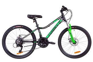 """Велосипед Formula ACID 2.0 DD 24"""" 2019 черно-зеленый"""