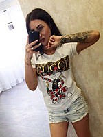 Забавная женская  футболка  с принтом, фото 1