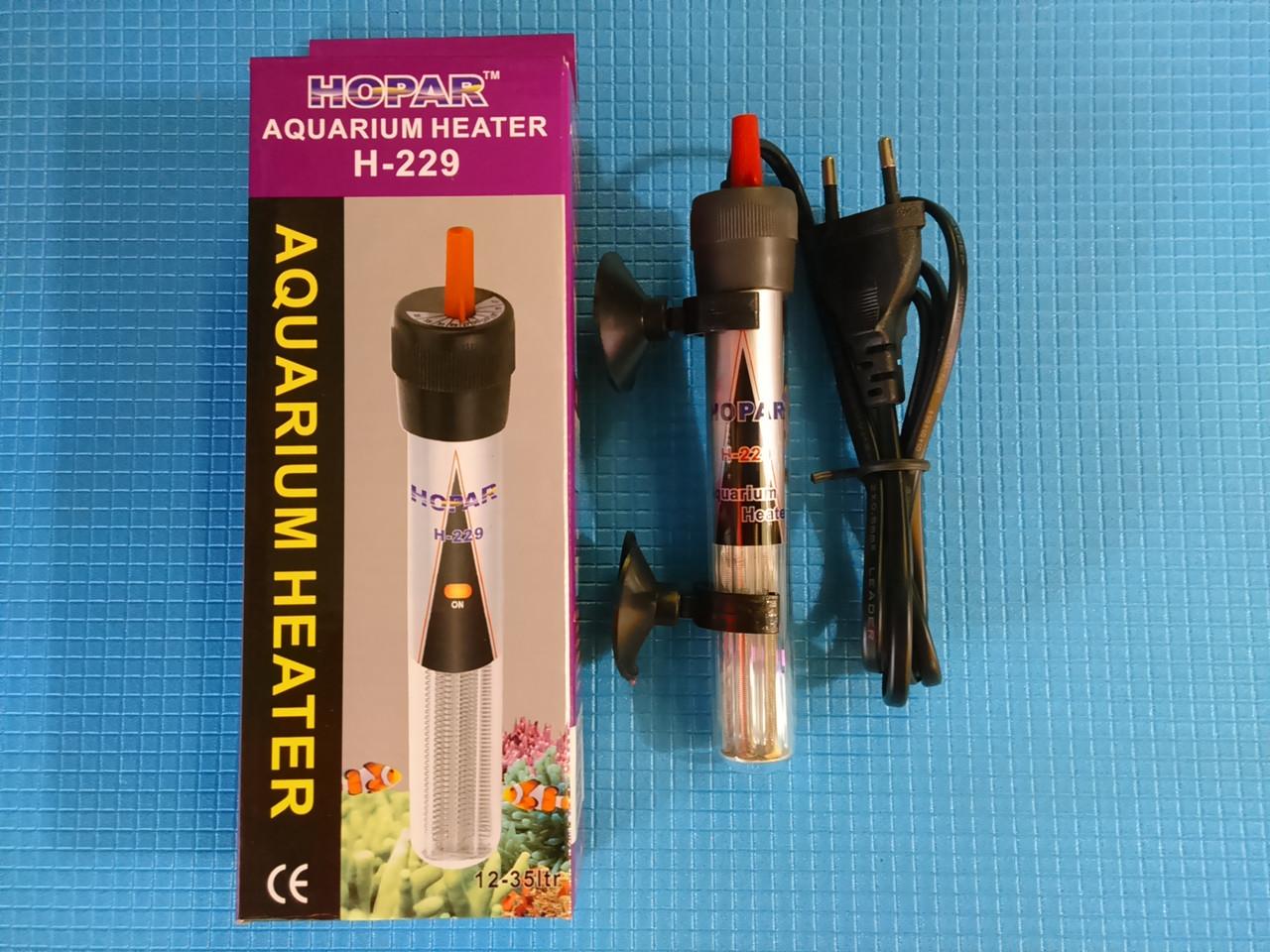 "Обогреватель с термореле ""HOPAR"" H229 50W с терморегулятором,"