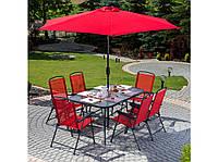 Набор садовой мебели Bordeaux PATIO красный